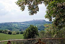 Panoric view of Todi